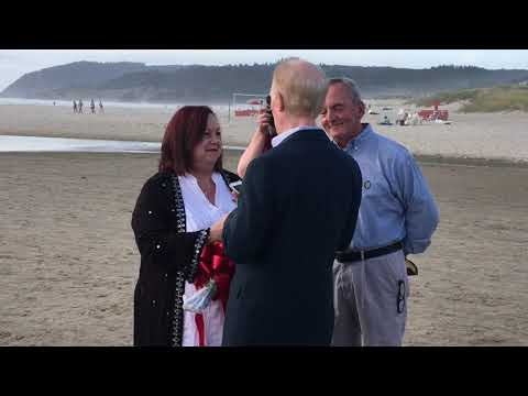 Mel & Chris at Cannon Beach 9-13-17