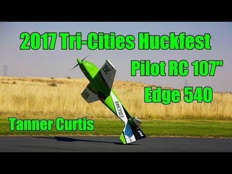 "2017 Tri-Cities Huckfest - Pilot RC 107"" Edge 540"