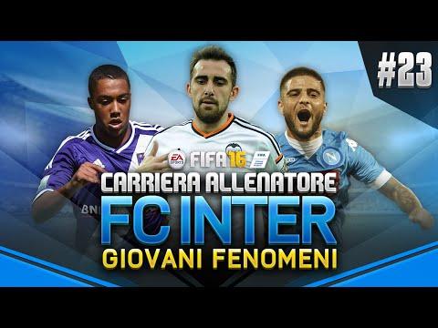 DUE GIOVANI FENOMENI!!   FIFA 16 CARRIERA ALLENATORE INTER - EP. 23 [DIFFICOLTA' LEGGENDA]