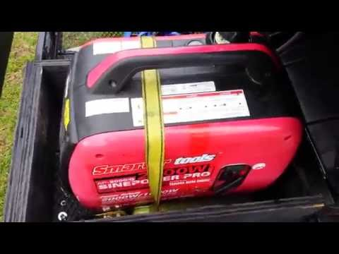 Smarter tools 2000w Generator Modified For A Extended Gas Tank