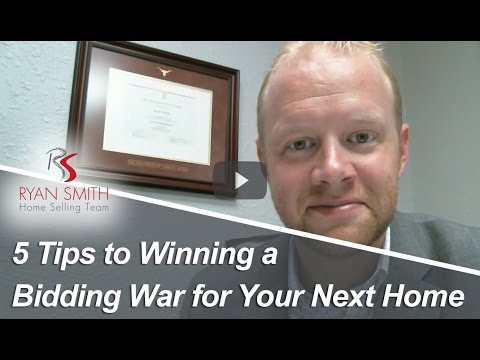Temple Real Estate Agent: 5 Tips To Winning A Bidding War For Your Next Home