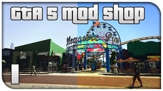 GTA 5 MOD SHOP #1 - OpenIV, Vibrant Realism SweetFX & First Person FOV