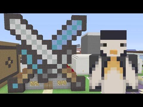 Minecraft Xbox: Sword Shop [230]