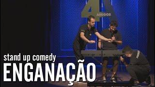 ENGANAÇÃO - STAND UP COMEDY | EDSON JUNIOR - PART. 4 AMIGOS