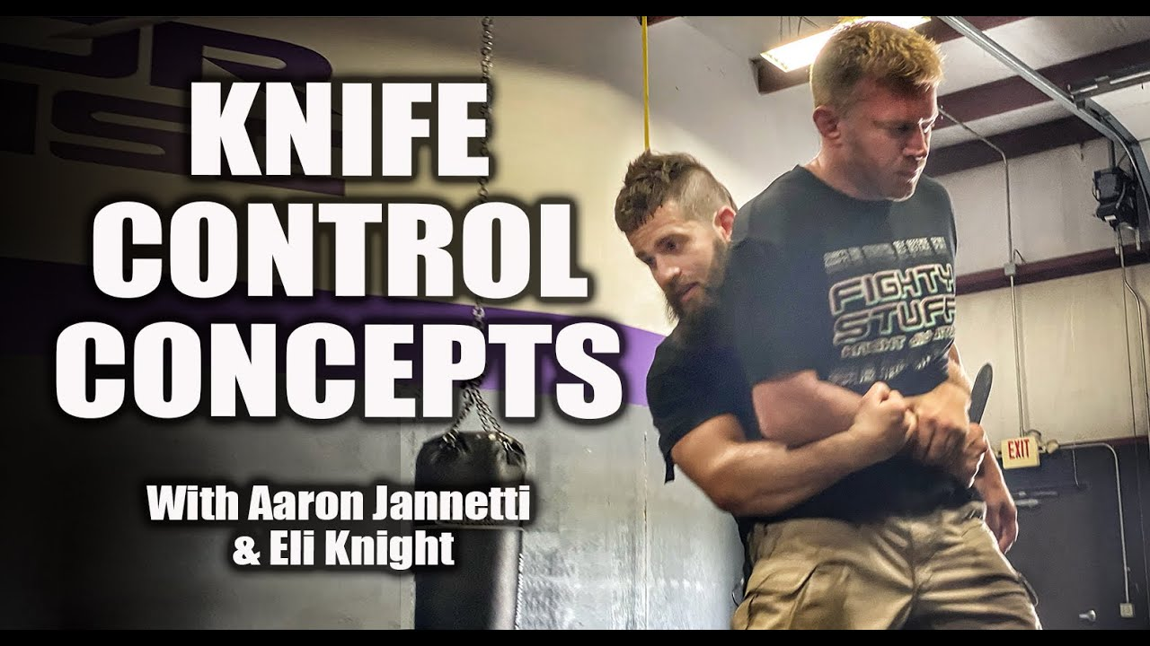Grappling Knife Control Concepts with Aaron Jannetti and Eli Knight | Self Defense Concepts