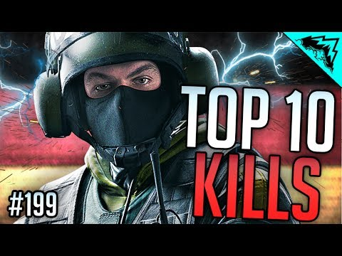 THAT'S SKILL - TOP 10 Rainbow Six Siege - WBCW #199 (Top 10 Plays)