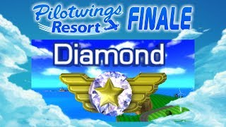 Pilotwings Resort :: FINALE :: Super Diamond Rank!!