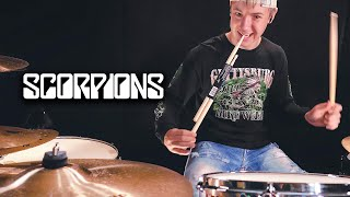 Rock You Like A Hurricane - Scorpions (Drum Cover by Avery)