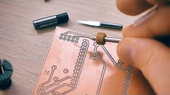 Make custom PCBs with the Sienci CNC and FlatCAM!