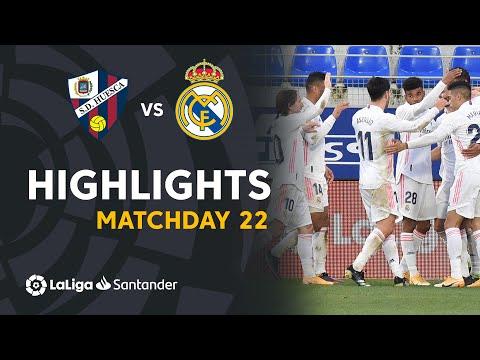 Huesca Real Madrid Goals And Highlights