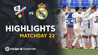 Highlights SD Huesca vs Real Madrid (1-2)