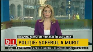 STIRI ORA 18: ATENTAT IN GERMANIA / LUMINA SFANTA A AJUNS IN ROMANIA, 8 APRILIE 2018