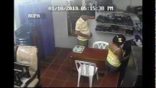 Vídeo de un ladron en Turbaco Bolivar