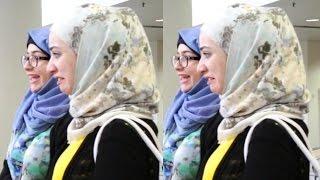 gadis syria terkejut melihat gaya tudung orang malaysia