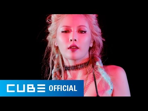 hyuna bubble pop mv  720p