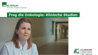 Frag die Onkologie: Klinische Studien