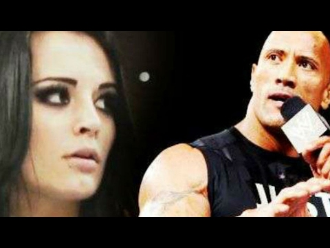 The Rock & WWE Making Movie About Paige's Life
