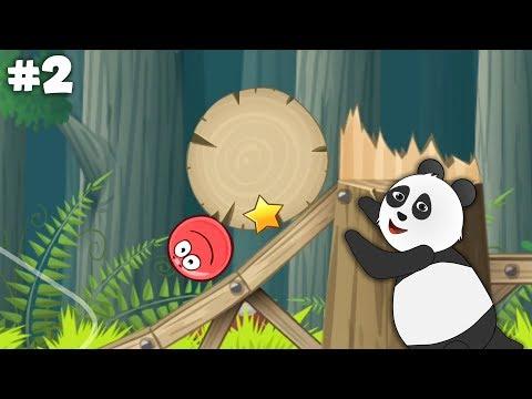 Panda Kırmızı Top Oynuyor!! - Red Ball 4 İkinci Bölüm