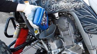 Замена Масла на Yamaha Raptor 700