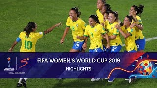 FIFA Women's World Cup | Italy vs Brazil | Highlights