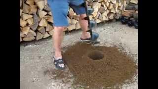 Fuxtec Benzin Erdbohrer Set - Sveder za zemljo