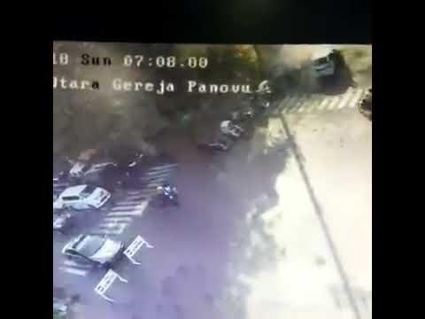 CCTV TERDUGA PELAKU BOM GEREJA SURABAYA