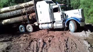 Carboneras subida con tractor