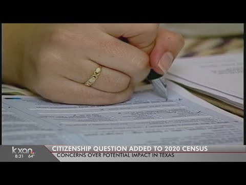 State of Texas: Census question raises new concerns