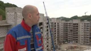 В Сочи строится жильё для волонтёров (Сочи, Олимпстрой)
