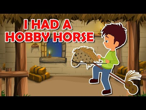 I Had A Little Hobby Horse Nursery Rhyme    Popular Nursery Rhymes With Max And Louie