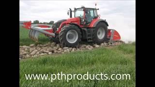 PTH Crusher 2500HD & PTH Speed Grader G2 bei der Herstellung einer Naturstraße
