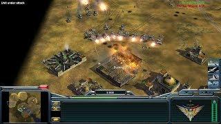 USA vs China vs 2x GLA - Command and Conquer Generals: Zero Hour