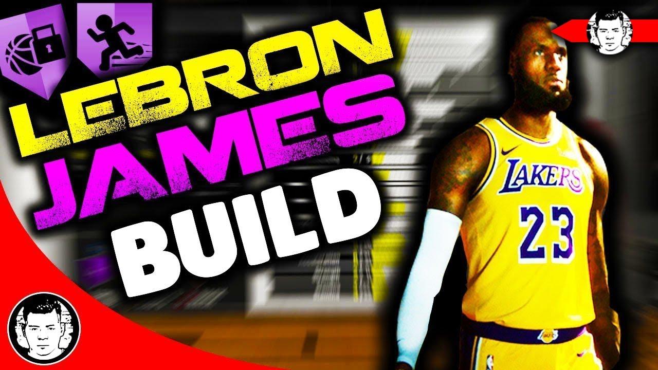 051c880d300c NBA 2K19 LeBron James ARCHETYPE for MyCAREER - Builds by JackedBill ...