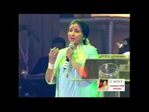 Aaiye Meherbaan Live inConcert Asha Bhosle