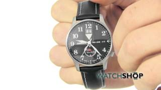 Junkers Men's Iron Annie JU52 Dual Time Watch (6640-2)
