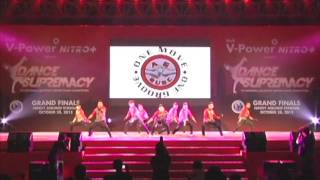 Dance Supremacy Finals 2012 (Official) - Alternative Groove