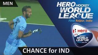 GER 1-0 IND Spack denies Ramandeep to keep Germany in front #HWL2015 #Raipur