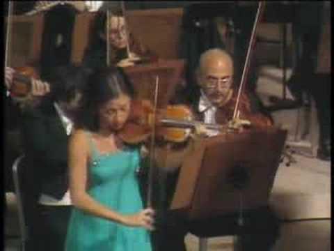 kyung wha chung Mendelssohn Violin Concerto 3rd live