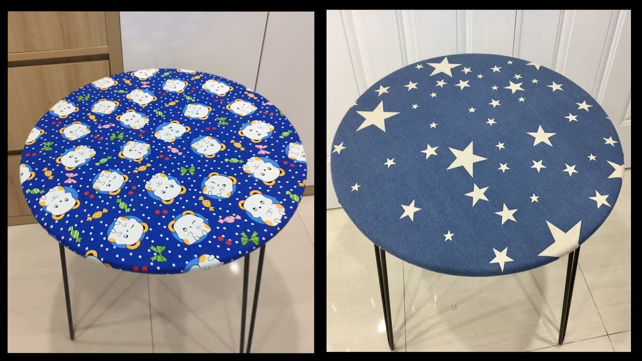 ♥️ Project to Renew Round Table in 5 Minutes/Home Decoration