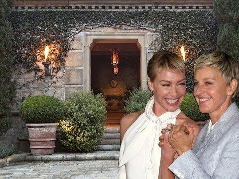 Inside Ellen DeGeneres Santa Barbara House
