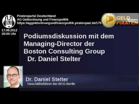 Geldsystempiraten - Podiumsdiskussion mit Dr. Daniel Stelter / Mesopotamia-Studie