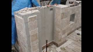 Build Your Own Bbq Island In Less Than 10 Days