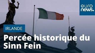 Irlande : percée historique du Sinn Fein
