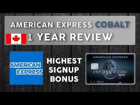 AMEX Cobalt Credit Card 1 Year REVIEW And Point HACKS To Optimize Returns