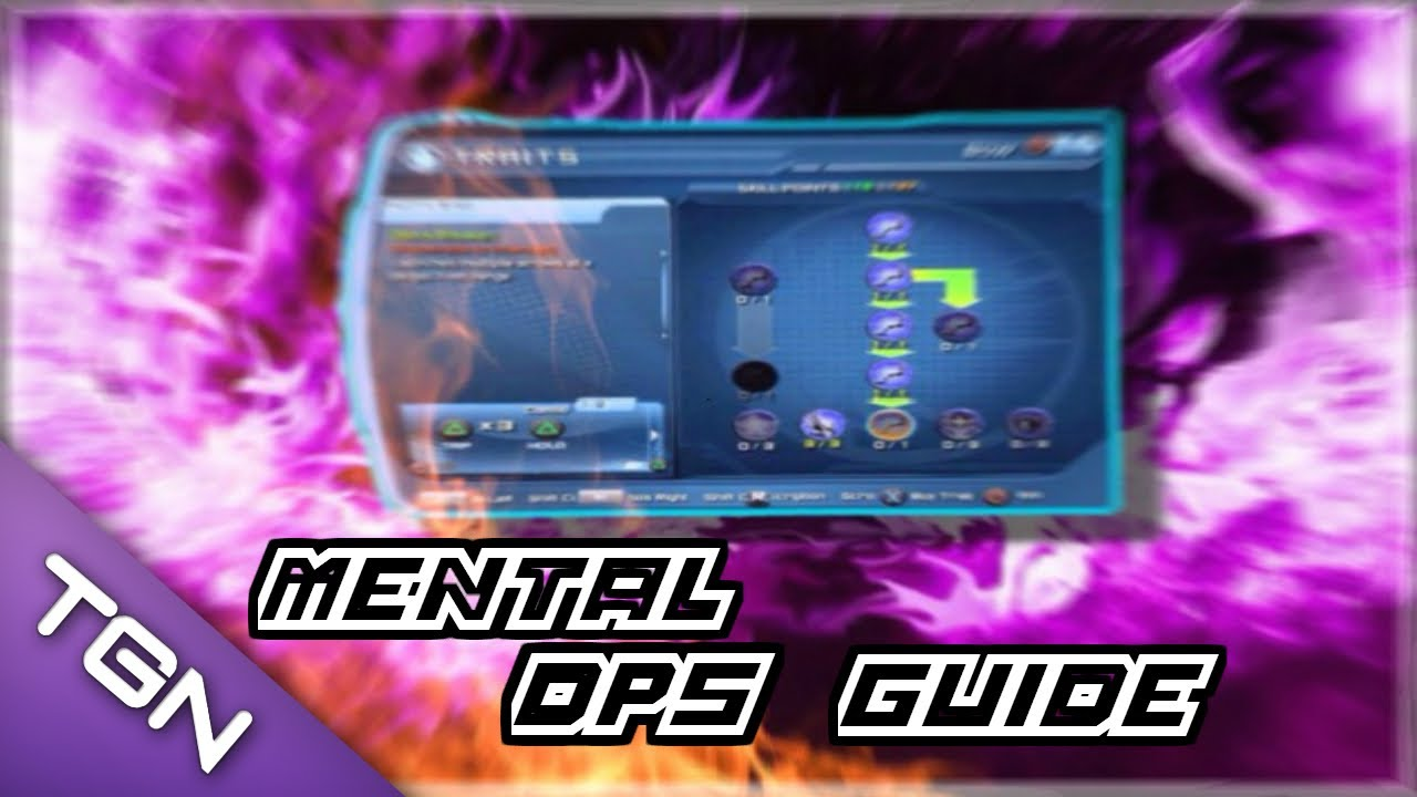 dcuo mental dps loadout guide pve youtube
