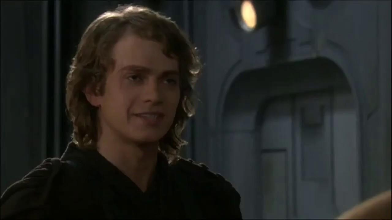 Star Wars Revenge Of The Sith Anakin Skywalker Speaking Droid Youtube