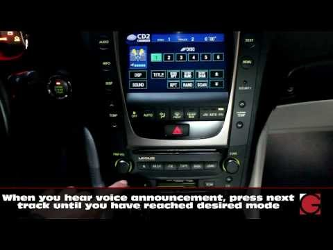 2006 Lexus GS300 Bluetooth Hands Free and A2DP streaming, USB, Auxiliary Music kit, demo by GROM