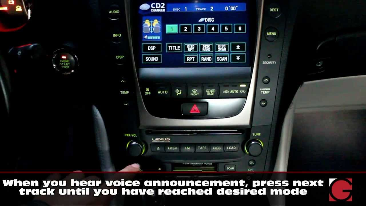 small resolution of 2006 lexus gs300 bluetooth hands free and a2dp streaming usb auxiliary music kit demo by grom youtube