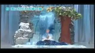 【Japanese Comedy】Meditation by sitting under a water fall