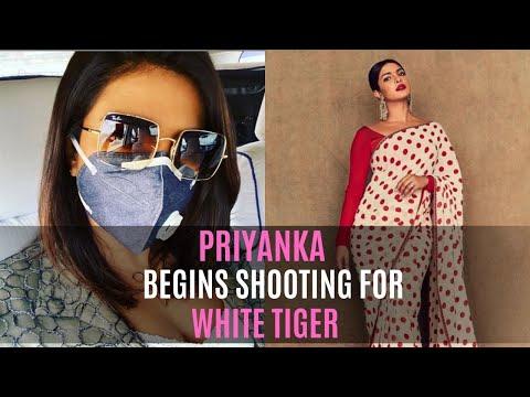 Priyanka Chopra Begins Shooting For The White Tiger In A Face Mask | SpotboyE Mp3